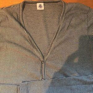 Sweat-shirt /à capuche Imprim/é complet Petit Bateau Bretonne Manches longues Fille