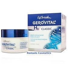Gerovital H3 Classic Intensive Moisturizing Cream, Day Care, 45+, 50 ml