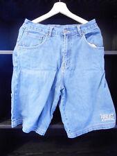 Everlast USA S mens blue denim athletic weight lifting long shorts