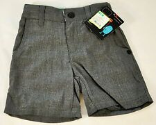 infant boys Shawn White gray shorts flat-front size 24 months MSRP $12 elastic
