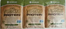 MRM Veggie All Natural Protein Powder - Chocolate - 3 packs
