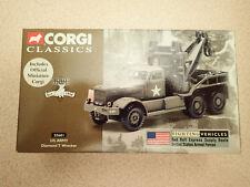 Corgi Classics Fighting Vehicles 55601 US Army Diamond T Wrecker Untouched