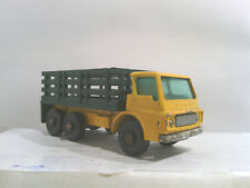 Loose Matchbox Lesney England Stake Truck Yellow and Green - S132