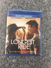 The Longest Ride (Blu-ray Disc + Digital  2015) - NEW!!