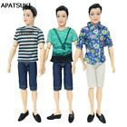 High Quality Handmade T Shirt + Jeans Pants Short For Ken Doll Male Doll Clothes