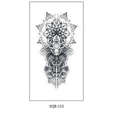 Mandala Tattoo Henna Fake Tattoo XQB115