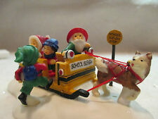 """Dept 56 North Pole  """"School Sleigh Express""""  #56 56837  FREE SHIPPING"""