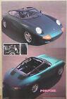 (PRL) 1990 PORSCHE PANAMERICANA CAR VINTAGE AFFICHE PRINT ART POSTER COLLECTION