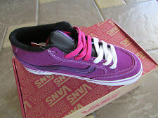 NEW VANS HOLDER MID PURPLE SNEAKERS SHOES WOMENS 6 ATHLETIC SHOES FREE SHIP