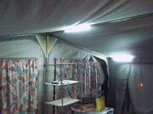 FLEXY LIGHT 12/240v LED awning lights motorhome,caravan,tent,camping 456Lm set2