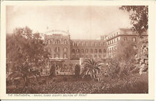Vintage Brunner & Co Postcard The Continental - Savoy, Cairo, Egypt P233