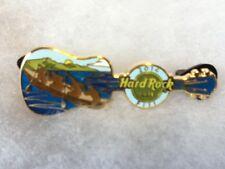 Hard Rock Cafe Pin Fiji Canoe Guitar 2014