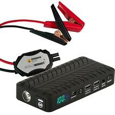 Rugged Geek RG1000 Safety (Gen2) Portable Emergency Jump Starter & Power Supply