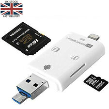 iFlash Driver Micro USB SD Card Reader for iphone and android phones (OTG only)