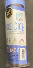 Yogi Fun Kids Yoga dice Game gets Children Boys and Girls Moving Bending and .