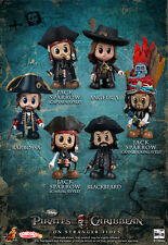 Hot Toys Cosbaby Pirates of the Carribean On Stranger Tides Set of 6 Figurines