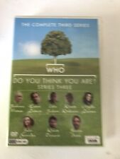 WHO DO YOU THINK YOU ARE? SEASON 3 DVD BOX SET SERIES 3