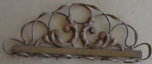Vintage Metal Key Rack – Wall Mount – Brass or Copper – BEAUTIFUL DESIGN UNIQUE