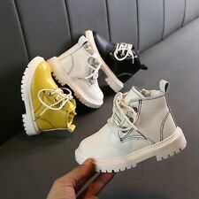 Toddler Baby Girls Boys Ankle Zip Short Boots Kids Outdoor Bootie Casual Shoes