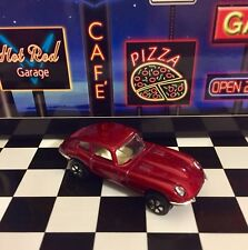 "🏁 Playart ~ Hot Red Jaguar E~Type 2+2 ""Mint"" 🏁"