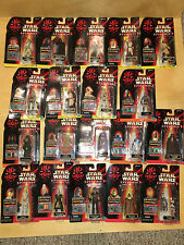 Hasbro Star Wars Episode I - Lot of 19 Figures - All New in Package