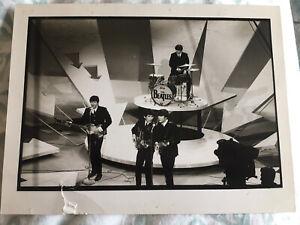 The Beatles Lennon Mccartney Harrison Starr Original Photo Henry Grossman 1964
