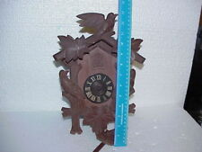 Vintage E. Schmeckenbecher Regula 8 Day Cuckoo Clock parts repair D