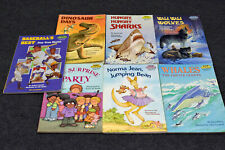 Lot of (7) Vintage Step Into Reading for Grades 1-3 Step 2 80s 90s