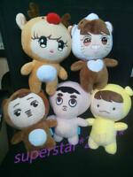 Kpop Exo Xoxo Planet#2 Plush Toy Chen Kai Do Suho Chanyeol Sehun Baekhyun Fans