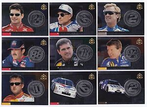 1998 Pinnacle Mint SILVER TEAM PARALLEL #5 Dale Jarrett BV$12.50!! ONE CARD ONLY