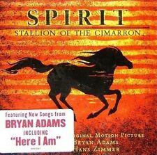 Spirit Stallion of The Cimarron Soundtrack CD by Bryan Adams Hans Zimmer