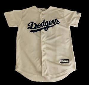 Los Angeles Dodgers Cody Bellinger Majestic Cool Base Jersey Youth Sz Large