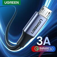 Ugreen Micro USB Cable 3A Fast Phone Data Charge Cable Fr Samsung S7 S6 Xiaomi