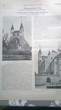 1906 93 Kirche Gaggstatt / Berlin U-Bahn Zoo Grundwasser