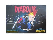 Calendario DIABOLIK 2000 Ladri di Tempo  [C71]
