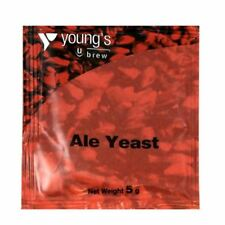 YOUNG'S Ale Yeast- 5g Sachet treats 23L - Home Brew Beer Making