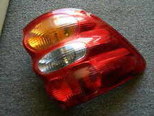 Toyota Sequoia left Tail light OEM without bulbs
