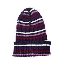 Gestreifte Baby-Hüte & -Mützen für Mädchen aus 100% Wolle