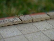 100 1:12 TH scala reale Pietra Arenaria bambole Casa Patio Lastre (100 SQ ins)