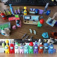 10Pcs/set Among US game Model Building blocks toys minifigure lot action figures