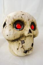 Rare VHTF Yankee Candle Boney Bunch Incredible Mr. Bones Skull Tea Light Holder