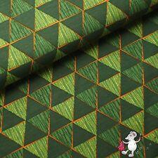 Bio Jersey Geometric green Lillestoff