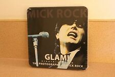 """Glam! NEW & SEALED 7"""" color vinyl in TIN Mick Rock includes booklet Roxy Music"""