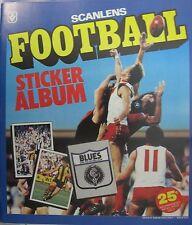 1983 unused Scanlens sticker book RARE