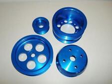 Blue Aluminum UR Style FD Pulley Kit 93+ RX-7 FD3S