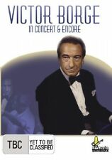 VICTOR BORGE - IN CONCERT & ENCORE (DVD, 2007) LIVE IN LONDON 1979 - VGC