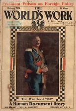 1914 World's Work October-Turkey; Baltimore; The Navy; Defeating Fire; Relatives