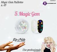 Paillettes Magic Gem - n. 05 - Allepaznokcie - Ricostruzione unghie Nail Art