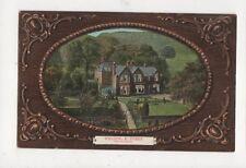 Welton The Vicarage E Yorks Hull Infirmary Wilson Band Overprint 1909  491a