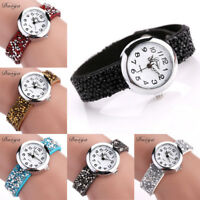 Women Luxury Crystal Watches Ladies Bracelet Quartz Rhinestone Anlog Wrist Watch